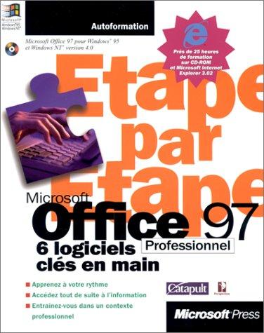 Microsoft Office 97 Professionnel étape par étape. 6 logiciels clés en main (avec CD-ROM)