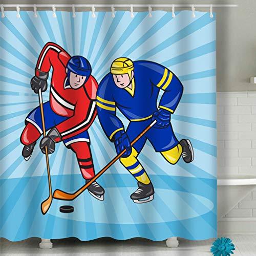 zexuandiy Gifts Home Fashionable Bathroom Art Design Shower Curtain 60