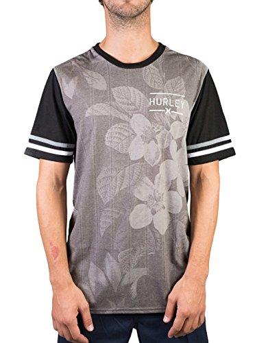 Herren T-Shirt Hurley Outfield T-Shirt Black