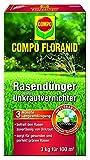 Compo Rasenpflege Floranid dünger plus Unkrautvernichter 3 kg für 100 m²
