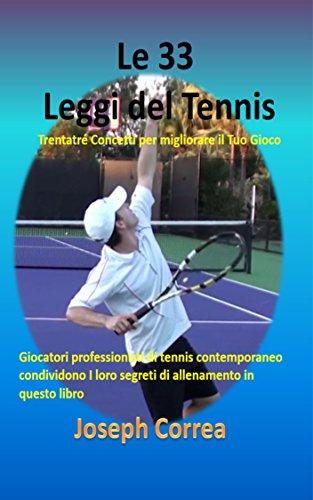 Le 33 Leggi del Tennis: Trentatré Concetti per migliorare il Tuo Gioco
