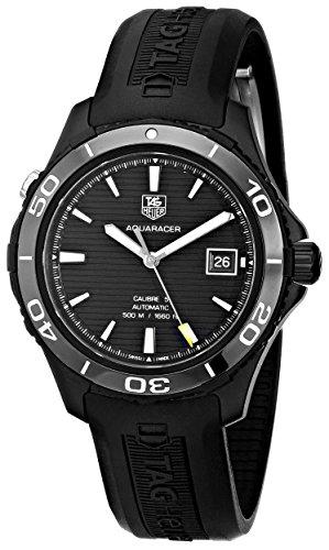 TAG Heuer Herren-Armbanduhr Analog Automatik Kautschuk WAK2180.FT6027