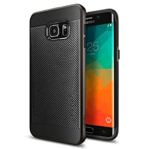 Spigen Neo Hybrid Carbon Fiber Case for Galaxy S6 Edge+ - Gunmetal