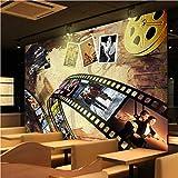 Xcmb Taille Personnalisée Photo Nostalgie Européenne Américaine Film Fond Mur Hall...