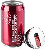 PEARL Thermobecher in Motiv Dosen bebidas-rojo, 220ml