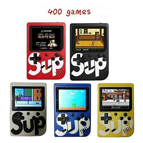 Sup Game Box Console Portatile Videogioco 8 Bit 400 Giochi Schermo Colori Retro\' Nostalgic (Nero)