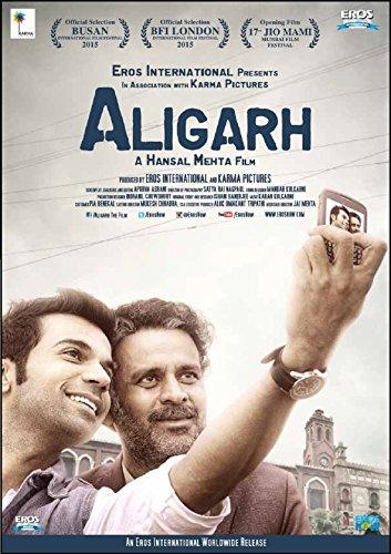 ALIGARH - Hindi mit englischem Untertitel - Bollywood Original DVD - Manoj Bajpayee - 2016
