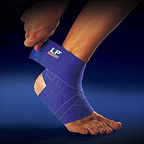 SDA Adjustable Compression MAX WRAP ANKLE SUPPORT STRAP by LP