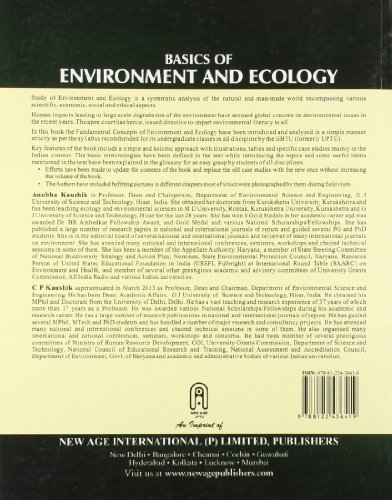 Basics of Environment and Ecology: As per the  New Syllabus of GBTU,  (Common to all Branches of Engineering)