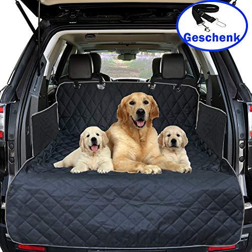Big Ant Universal Kofferraumschutz Hunde Auto Kofferraumdecke Hundedecke Kofferraumschutzdecke mit Seitenschutz für Auto Kofferraummatte Hund wasserdicht Autositz für Haustier