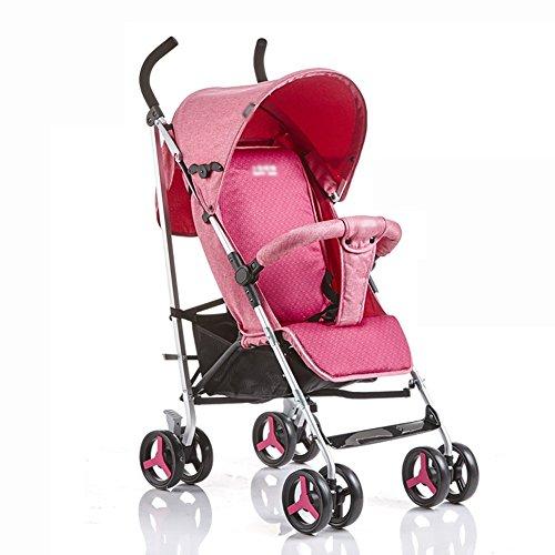 Poussette ERRU- Bébé léger chariots bébé parapluie extérieur systèmes de  voyage en plein air plier 28cbee1273a