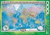 Eurographics Eg60000557carte du monde puzzle (1000pièces)