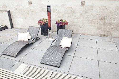 OutTrade Elektrische Heizung Slimline, Grau, 160 cm - 3