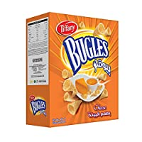 Tiffany Bugles Cheese Chips, 12 x 25 gm