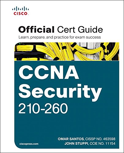 CCNA Security 210-260 Official Cert Guide por Omar Santos