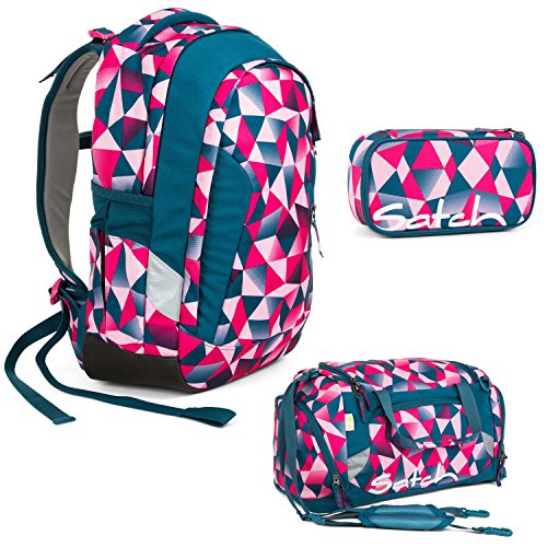 fdda4969f5a3a Home · Schulbedarf · Satch Sleek - 3tlg. Set Schulrucksack - Pink Crush ·  zurück ·   vor