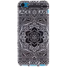 Coque Apple iPhone 5C,Cozy Hut® Coque Gel TPU Silicone Dessinez motif pour Apple iPhone 5C - Housse Etui Protection Full Silicone Souple Ultra Mince Fine Slim, TPU avec Absorption de Choc, Etui Silicone Transparente, Très Légère / Ajustement Parfait / Coque pour Apple iPhone 5C - black Flowers