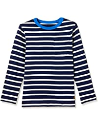 GAP Boys' Striped Regular Fit T-Shirt