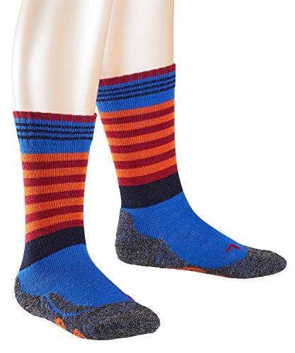 FALKE Mädchen Socken Frog, Mehrfarbig (Royal Blue 6053), 27-30 (Royal Bekleidung Kids Blue)