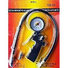 Pistola compresor manómetro de hinchado de los neumáticos de coches motos furgonetas unidades
