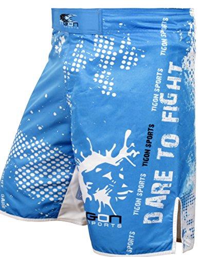 Tigon Classic MMA Cage Fight Mixed Martial Arts Shorts Blue