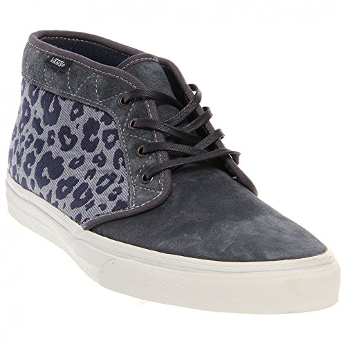 Vans CHUKKA BOOT CA California Collection leopard camo ombre blue Camouflage