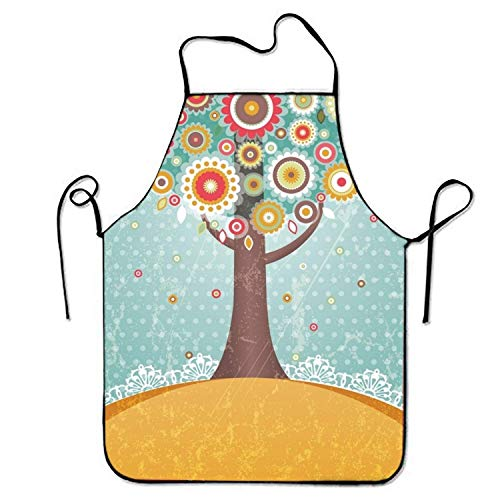 Ice Mann Cream Kostüm Herren - HTETRERW Ice Cream Unicorn Apron for Baking Crafting Gardening Cooking Durable Easy Cleaning Creative Bib for Man and Woman Standar Size