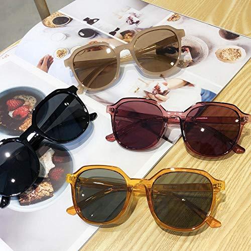Sonnenbrille Männer Und Frauen Hipster Retro Gelee Farbe Sonnenbrille Outdoor Sports Travel Uv Brille Reiten Fahren Mirror-2