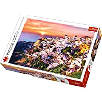 "Trefl 10435 ""Sunset Over Santorini Puzzle (1000-Piece)"