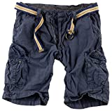 Surplus Herren Cargo Shorts Summer, navy, XL