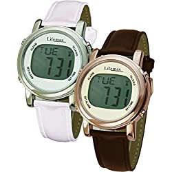 Lifemax Chic Atomic Talking Watch (Choose Copper or White Design)