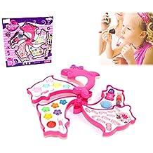 Estuche maquillaje forma de DELFÍN para niñas - Juguete infantil de imitación