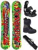 AIRTRACKS SNOWBOARD SET - TABLA ONE LINE WIDE (HOMBRE) 156 - FIJACIONES STAR - BOTAS STAR BLACK 43 - SB BOLSA