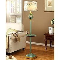 Global- Amerikanische Stehlampe Wohnzimmer Schlafzimmer Arbeitszimmer Schreibtischlampe mit Couchtisch preisvergleich bei billige-tabletten.eu