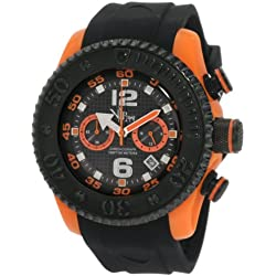 Vip Time Italy Men's VP5051OR Free Style Sporty Chronograph Watch