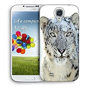 Snoogg Snow Leopard Printed Protective Phone Back Case Cover For Samsung S4 / S IIII
