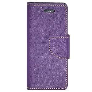 Zaoma Diary Type Flip Cover for Nokia 230 - Purple
