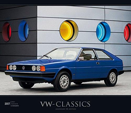 Preisvergleich Produktbild VW-Classics 2017 - Oldtimer - Bildkalender (33,5 x 29) - Autokalender - Technikkalender - Fahrzeuge