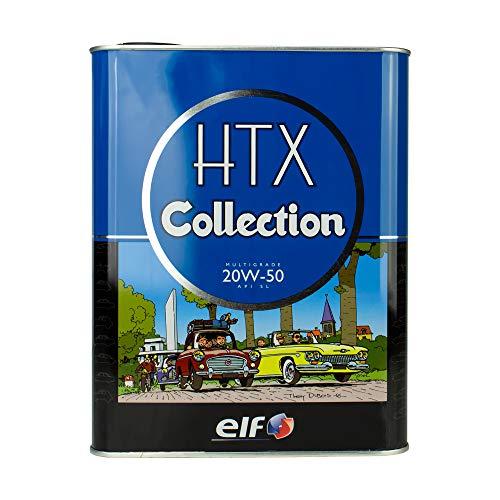 ELF Motoröl HTX Collection 20W-50 2L 205743 Mineralisches Motoröl für Oldtimer und Youngtimer...
