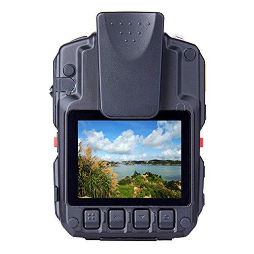 Angin-Tech Cam102 Infrarot-Nachtsicht HD 1080P Polizei Körper getragen Videokamera Sicherheit IR-Cam Eingebauter GPS-Unterstützung Bewegungserkennung + 16GB TF-Karte (mit Karte 16GB TF) - 3