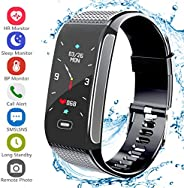Janker Fitness Tracker, Activity Smart Bracelet Wristband With Pedometer Heart Rate Monitor Step Calorie Dista