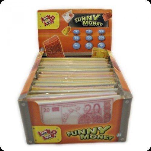 Lustiges Geld Essbares Papier Geld - 24 Pack
