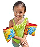 Intex Swimming Safety Arm Band 23 Cm X 18 Cm Inflatable Swimming Pool Arm Band, for 3 to 6 Years Kids, Swimming Safety Suit Intex Recreation Aqua Fish Armbands Children Swimming Learning Safe Life Vest for Kids