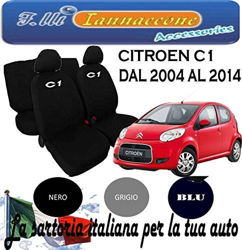 Lupex Shop Smart.2S/_N.Mb Coprisedili Cotone Bicolore Mimetico Blu 6 Pezzi