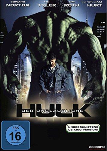 Der unglaubliche Hulk (ungeschnittene US-Kinoversion) (Hulk Tim Roth)
