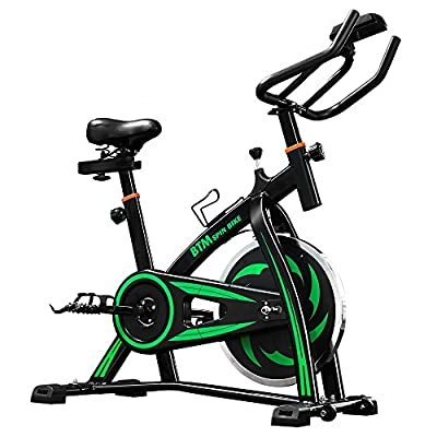 BTM Indoor Cycling Exercise Bike Spin Bike Studio Cycles Exercise Machines from Life Carver®