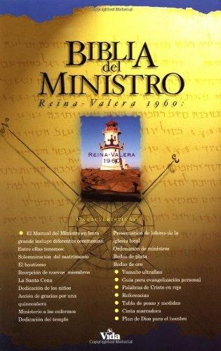 Biblia Del Ministro RV60 -Piel Especial Negro