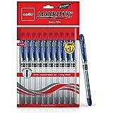 Cello Maxriter Ball Pen Set - Pack of 10 (Blue)