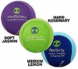 3x Stressbälle für Körper und Geist - AROMATHERAPIE & POSITIVE AFFIRMATIONEN, um Angst zu lindern...