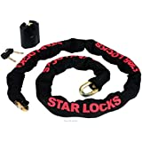 STAR LOCKS - Antivol Cadenas + Chaine - 1,5M